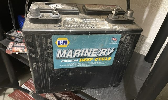 Intelligent Marine Battery Charger